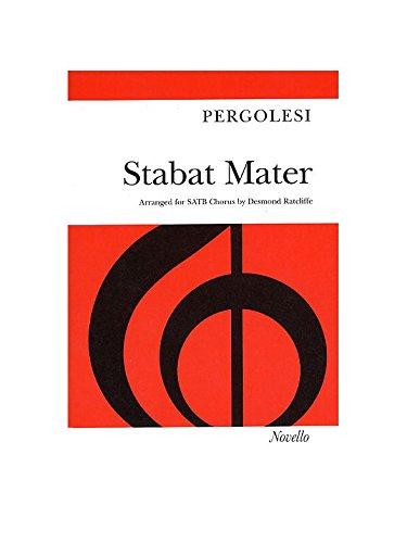 Pergolesi Stabat Mater Satb