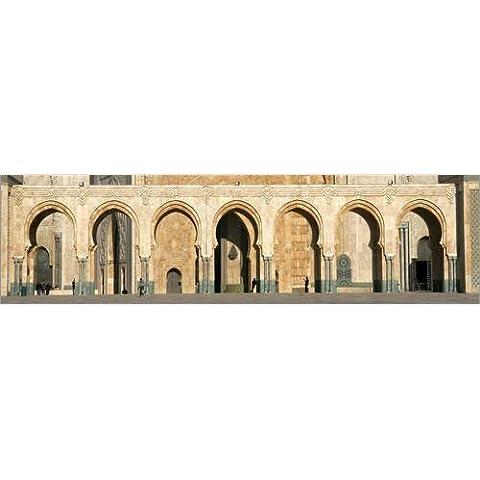 Alu Dibond 110 x 30 cm: North Africa - Casablanca