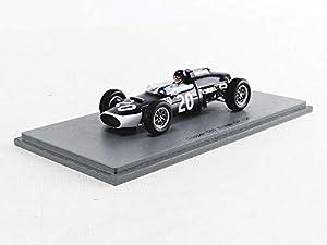 SPARK S5293 - Coche en Miniatura de colección, Color Negro y Blanco