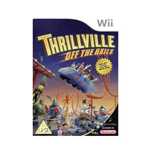 Good - Thrillville Off the Rails for Nintendo Wii (Wii U compatible)