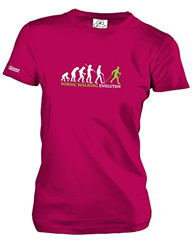 NORDIC WALKING EVOLUTION - Sorbet - WOMEN T-SHIRT by Jayess Gr. L