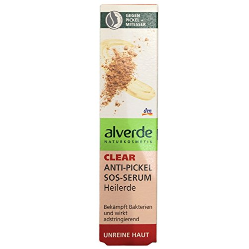 Alverde - Sérum SOS anti-acné - Terre médicinale - 15 ml