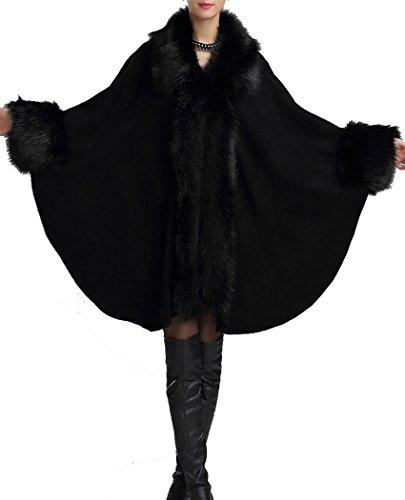 helan-mujeres-moda-faux-knitting-abrigo-capa-del-cabo-negro