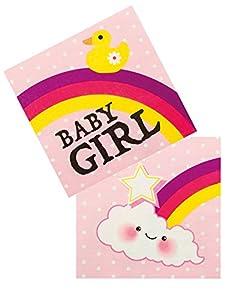 Boland - Servilletas de papel para bebé, talla única, 12 unidades, multicolor, BOL53222