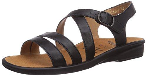 Ganter - SONNICA, Weite E, sandali  da donna Nero (schwarz 0100)