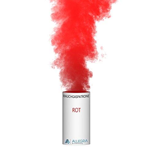 ALLEGRA Rauchpatronen Bunt XXL 3min Rot