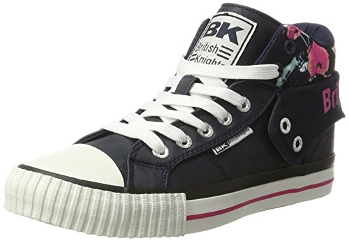 British Knights Roco, Sneakers basses femme Blau (navy/pink/flower)