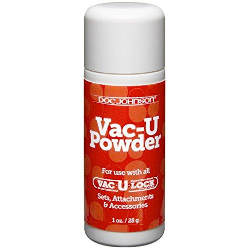 Doc Johnson Vac-U-Lock-Puder 28 g, 1 Stück