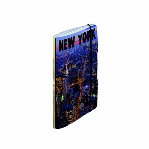 Preisvergleich Produktbild Herlitz 11387685 Schülerkalender Flex New York Night A5, 2014/2015