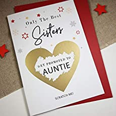 c1899dfa only the best sisters get promoted to auntie card you're going to be an  auntie.