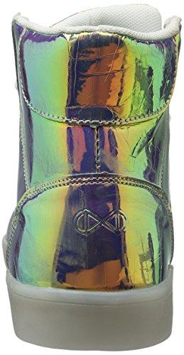 Nat-2 LED Metallic, Baskets Basses Homme Multicolore - Mehrfarbig (vanish sunrise)