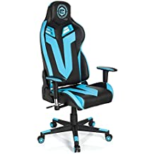hjh OFFICE 734110silla de Gaming/Silla de oficina gamebreaker VR 12sintética negro/azul