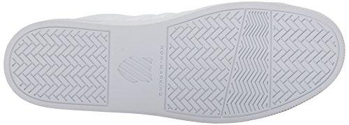 K-Swiss Herren Court Frasco Sneaker Weiß (White/Dress Blues)
