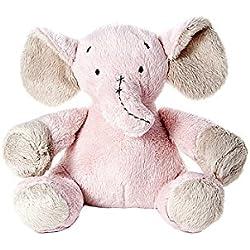 Animales de peluche juguetes rosa elefante para bebé recién nacido niña