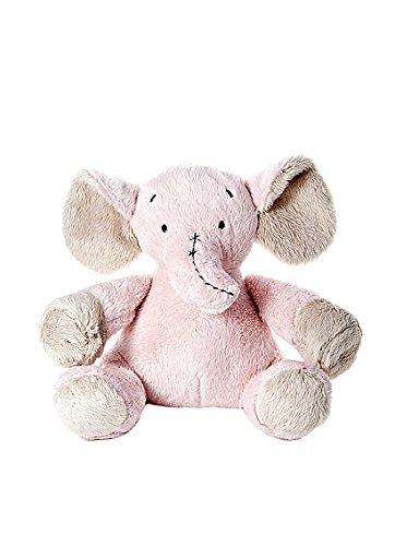 Peluche elefante rosa di piccolo da coccolare per una bambina appena nata
