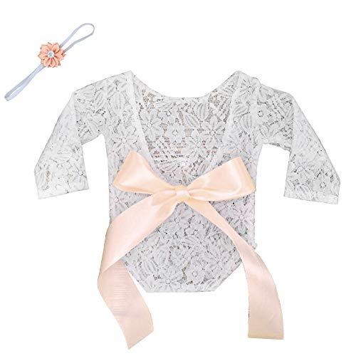 ting Kostüm, Baby Fotografie Spitze Neugeborene Foto Babyfotografie Requisiten Photo Prop Wrap Newborn Accessoire ()