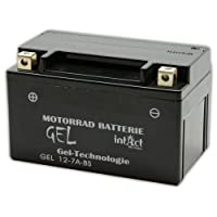 Motorrad Batterie Gel 12 V 6 AH (50615 / YTX7A-BS) Alternativ: GTX7A-BS; 6MF6;12N7E-4 - 506015005 - YTX7A-4 - 0092M60070 - M6007 - 009725060F