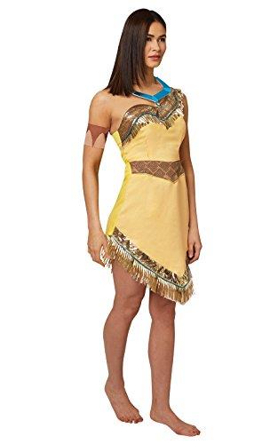 Rubie's Offizielles Damen-Disney Pocahontas-Kostüm für Erwachsene, Gr. - Disney Offizielle Kostüm