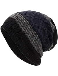 MERICAL Lana Donna Uomo Warm Baggy Weave Crochet del Knit di Inverno Sci  Beanie Skull Caps 82e36d056ca4