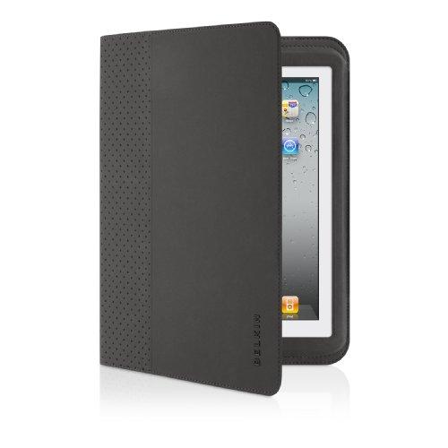 Belkin F5L096cw Blatt Schwarz - Tablet-Schutzhüllen (Blatt, Apple, iPad 2, iPad 3, Bluetooth, Tastatur, Schwarz) (Belkin Ipad 2 Case Tastatur)