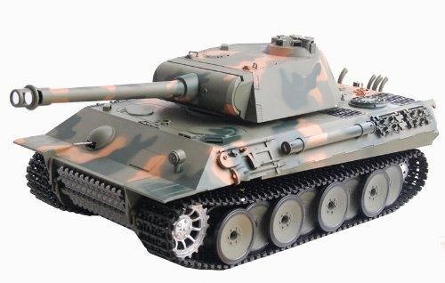 ES-TOYS RC Tank German Panther 1:16 Heng Long -Smoke & Sound