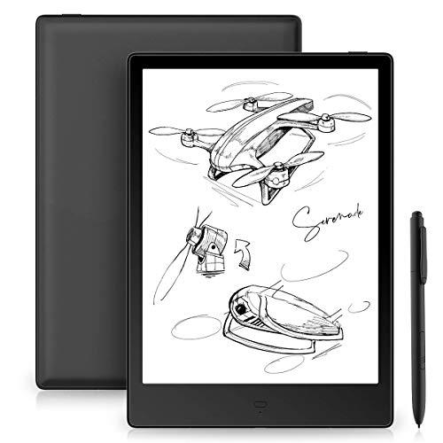Likebook Alita E-Reader, 10,3-Zoll-E-Ink-Mobius-HD-Bildschirm, Dual Touch, Handschrift, integriertes kaltes/warmes Licht, integriertes akustisches Signal, Android 6.0, 4 GB + 32 GB