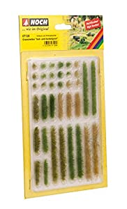 NOCH 07125 Scenery parte y accesorio de juguet ferroviario - partes y accesorios de juguetes ferroviarios (Scenery, Cualquier marca, 36 pieza(s), Verde, 6 mm)