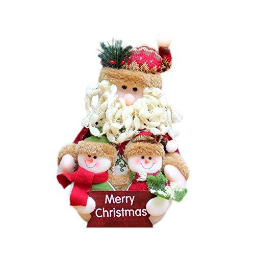 Weihnachtspuppe, Weihnachtsgeschenk, familienporträt Santa Santa Santa Schneemann Weihnachtsmann Plüsch Geschenk für Kinder Weihnachtsgeschenk Weihnachtspuppe