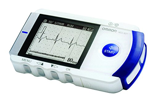Omron ECG tragbar Heart Scan HCG 801E komplett
