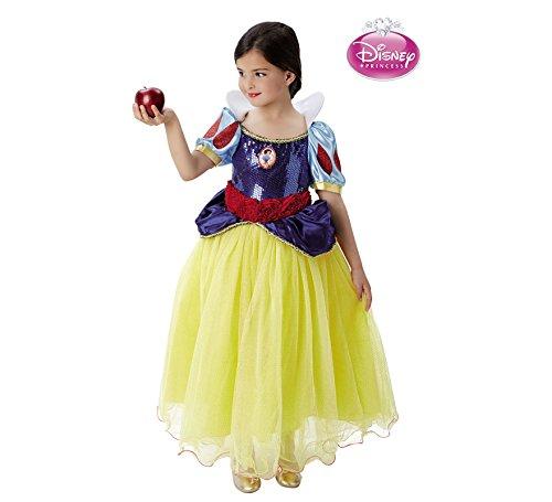 Disney Princesas Disfraz infantil Blancanieves Premium, M (Rubie's Spain 620472-M)