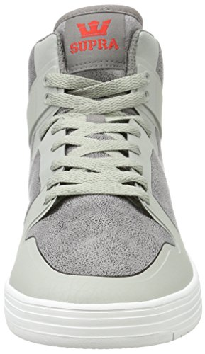 Supra Vaider 2.0, Sneakers Basses Homme Gris (Ghost Grey/white)