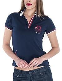 Giorgio Di Mare Mujer Polo Luxury Marino Polo Camiseta