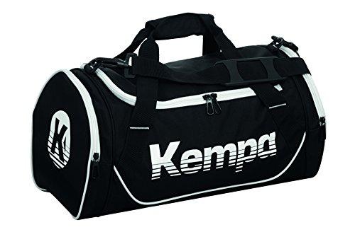 Kempa Uni Sporttasche-200489702 Sporttasche, Schwarz (Negro/Blanco), 45 cm