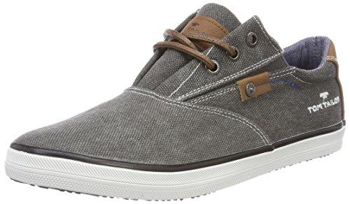 TOM TAILOR Jungen 4870105 Sneaker, Grau (Coal), 38 EU