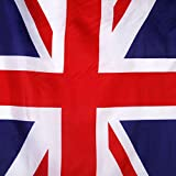 Sharplace 2 x Union Jack-Flagge England British Großbritannien UK Banner 150 x 90cm/5 x 3 Ft