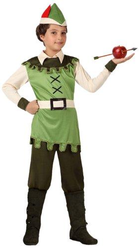 - Verkleidung Waldjunge, Jungen, Größe: 116 (Wald Prinz Kostüme)