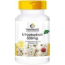 L-triptófano 500mg - 100 cápsulas veganas – productos para ...