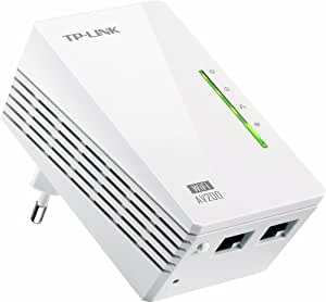 TP-Link TL-WPA2220 WLAN Powerline-Netzwerkadapter (WLAN Repeater, 200Mbit/s, 2-Port)
