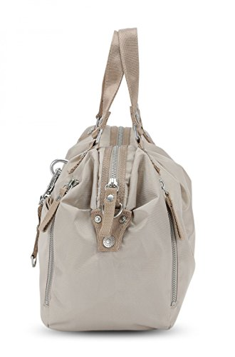 beige Handtasche 34 real Lucy cm Candy George Gina Cotton qCwO8O