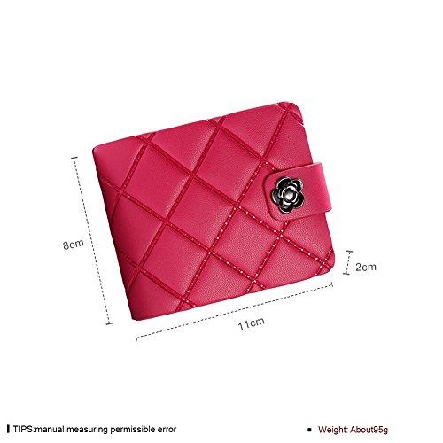 Faysting EU vari colori donna borsellino donna portafoglio rete decorato fashion stile buon regalo D