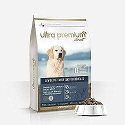 ULTRA PREMIUM DIRECT - Croquettes Light Super Premium pour Chien Stérilisé/Surpoids (12kg)