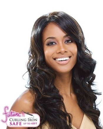 Freetress Equal Synthetic Lace Front Wig - Scarlett-1B by Freetress