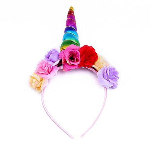 My Little Pony Deluxe Headband Unicorn Headband For Party (Rainbow) - Buy  Online in Oman.  da262b851eb