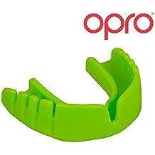 OPRO Snap-Fit - Mundschutz für Handball, Karate, Rugby, Hockey, MMA, Boxen, Lacrosse, American Football, Basketball - kein Anpassen, kein Kochen, keine Mühe - im UK entwickelt und hergestellt