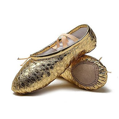 Wuyulunbi @ Enfants Ballet Pieno Sole Sneaker Professionnel Tacco Piatto Argent Or Us4 / Eu36 / Uk3 Grands Enfants