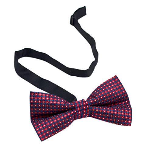 Goldatila Men's Ties, Cummerbunds & Pocket Squares Men's Business Dress Bow Tie Cotton Pattern Bow Tie Paisley Cummerbund