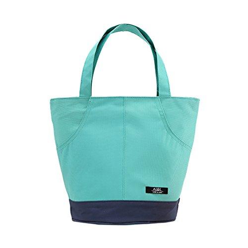 DOGZI Tragbaren Lunch Taschen, Wiederverwendbare Lunchtasche Kühltasche - Thermische Isolierte Tote Picknick Mittagessen Kühltasche Kühler Box Handtasche Beutel -