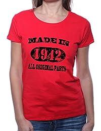 Mister Merchandise Femme Chemise T-Shirt Made in 1942 All Original Parts Years Jahre Geburtstag
