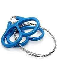 Alambre de serrado flexible de acero inoxidable azul