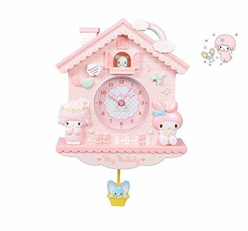 ONZ Wandbehang-Uhrschlafzimmerdekoration-Hängende Dekoration Der Netten Katzenwanduhr-Hütte Wand,B
